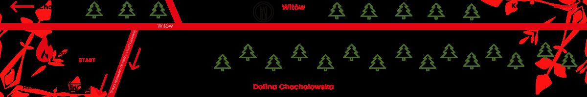 Mapa Doliny Chochołowskiej