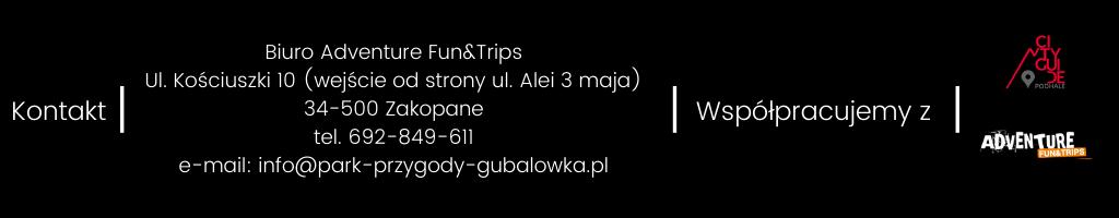 Biuro Adventure Fun&Trips, ul. Kościuszki 10, Zakopane